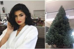 Kylie Jenner's X-mas tree is so big, we've never seen anything like it...