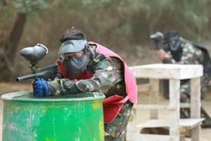 Paintball, Zorb, rappelling and more: Garden of Five Senses has it all