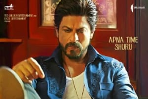 Shah Rukh Khan dons a gangster look in new poster of Raees