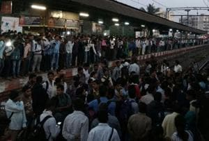 Angry commuters block tracks at Titwala; CR services delayed by 30...