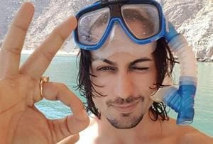 Actor Shaleen Bhanot went snorkeling with friends while holidaying in Dubai.