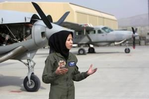 Capt Safia Ferozi: Afghan woman who went from being a refugee to...