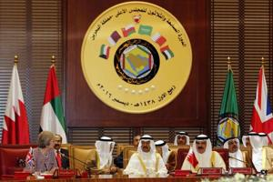 British premier, Gulf Arab nations pledge to counter Iran