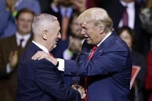 Trump formally nominates James Mattis to be Defence Secretary