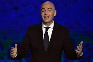 Fifa president Gianni Infantino backs 48-team World Cup with 16 groups...
