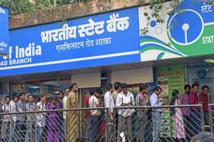 Demonetisation: Queues shrink, but ATMs still running dry fast in...