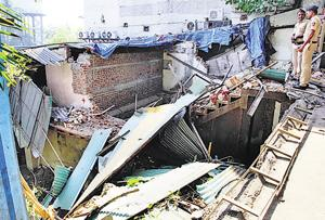 Demolition of Satyam Lodge by Thane Municipal Corporation last week revealed secret rooms and escape routes.