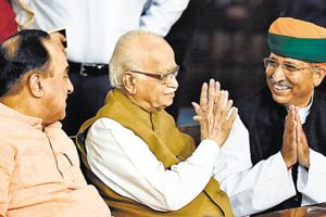 Advani anguished because of Opposition, ministers claim as ruckus...