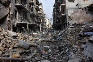 12 killed in shelling of government-held Aleppo in Syria
