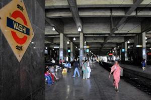 EMR outside Vashi station to be ready by January 2017