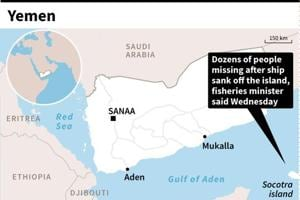 60 feared drowned in Yemen after boat disappears