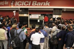 Noida: 310 banks run out of cash because of 'unexpected rush'