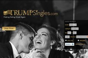 'Making dating great again': Online courtship for the politically...