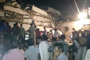 10 feared dead as seven-storey building collapses in Hyderabad