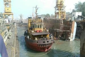 Firms come up to salvage INS Betwa