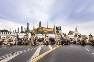 Poised between mourning and celebration, Bangkok still flourishes