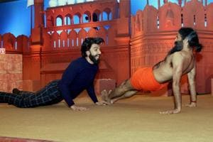 Yoga with Ramdev to dancing for Hrithik: Ranveer Singh has done it all