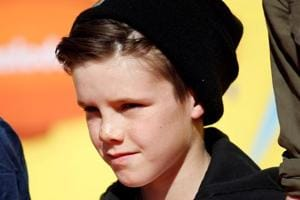 Victoria, David Beckham's son, Cruz, releases his debut song