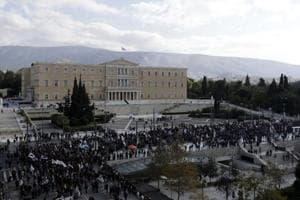 Greeks stage nationwide strike and demonstrations