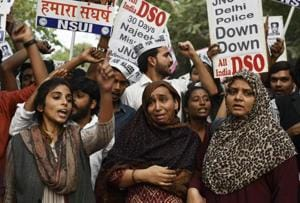 Missing JNU student: ABVP members to be let off with a warning