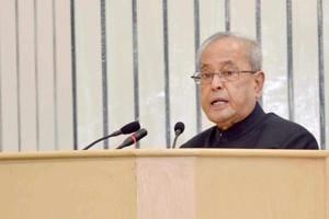 For God's sake, do your job: Pranab slams Oppn over note ban protests...