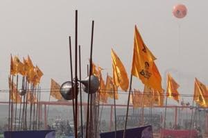 Preparations in full swing for the 'Pani Bachao, Punjab Bachao' rally in Moga.