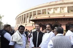 Parliament Live: RS adjourned till noon after Opposition rakes up...