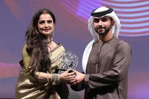 Dubai fest opens with Miss Sloane, honours Rekha