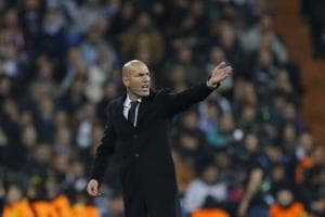 Zinedine Zidane angry after Real Madrid let lead slip against Dortmund