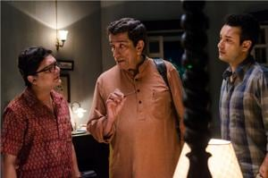 Sabyasachi Chakraborty will be seen playing Feluda on the big screen after a gap of five years. He plays the iconic Bengali sleuth in Sandip Ray's upcoming film Double Feluda.