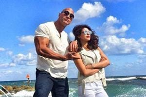 The Rock promises Priyanka Chopra will 'slay' Baywatch