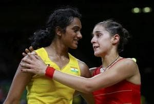 Carolina Marin recalls tough Olympic final vs PV Sindhu, can't wait...