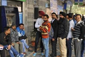 Demonetisation blues: A month after, no end to queues outside banks,...