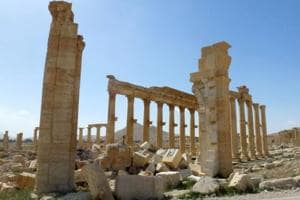 Islamic State makes advances towards ancient Syrian city of Palmyra:...