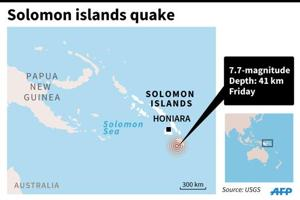 Solomon Islands quake: No serious damage or loss of lives after 7.7...