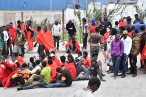 400 migrants storm Moroccan border at Spain's Ceuta
