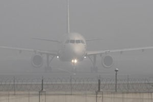 Poor visibility: 16 flights delayed, 4 cancelled due to fog in...