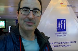 Watch: British comedian John Oliver quips about Delhi's 'soupy' air