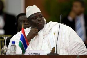 Long-time Gambian ruler now refuses to step aside