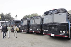 Delhi Police's new jail vans bought to avert gang wars lying unused