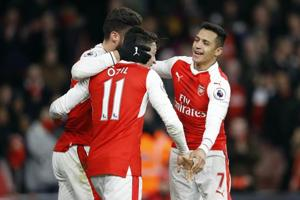 Arsenal face Stoke City in tricky Premier League encounter