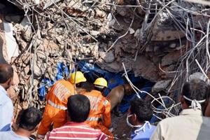 Hyderabad: 11 bodies recovered from collapsed building, search ops...