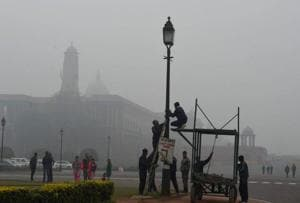 Weather experts said the wind speed in the first week of December had been lower than that reported during the corresponding period in the last five years.