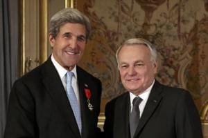 John Kerry awarded with France's highest honour