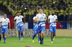 Kerala Blasters will take on the Delhi Dynamos in first leg semi-final at Jawaharlal Nehru Stadium, Kochi, on Sunday.