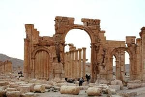 Islamic State jihadists re-enter Palmyra in Syria: Monitor