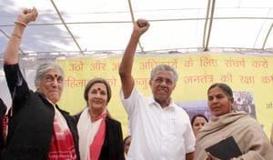 Kerala CM Vijayan cuts short Bhopal visit over Bajrang Dal protest