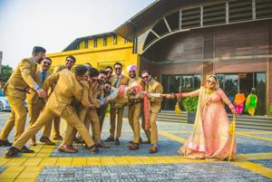Make way for the shaadi style squad: Matching outfits trending this...