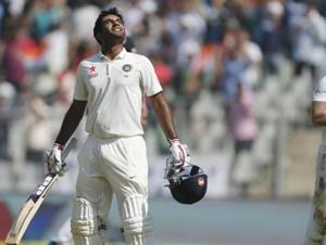 Jayant Yadav underlined his potential as an all-rounder with his maiden hundred in only his third Test.