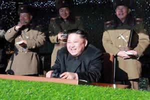 North Korea military drill targets South's presidential office